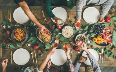 Cómo mantener una dieta saludable durante las fiestas navideñas
