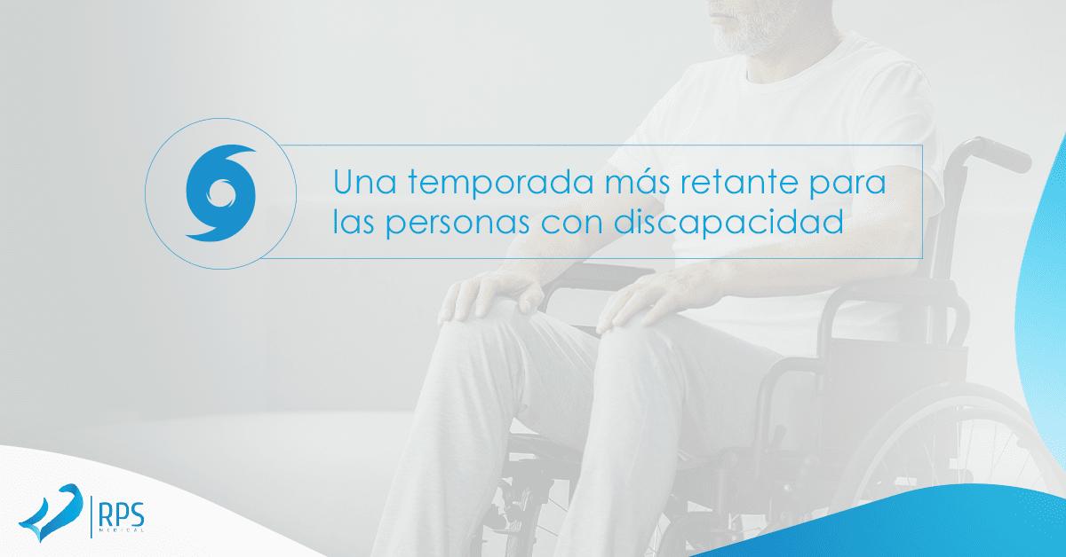 Una temporada más retante para las personas con discapacidad